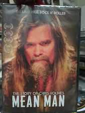 MEAN MAN The Story of CHRIS HOLMES DVD W.A.S.P. The Last True Rocker Heavy Metal