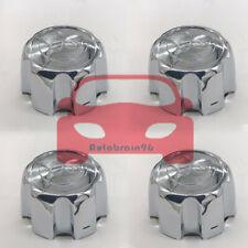 4X For Mitsubishi Montero 1999-2004 Center Caps Hubcaps Chrome Black MB816581