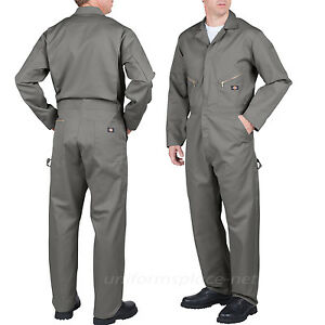 Dickies Long Sleeve COVERALLS Men Mechanic Cotton Blend Coverall