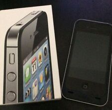 Apple iPhone Black 4S Virgin Mobile 16G w/ Box Mophie Plus Zagg Invisible Shield