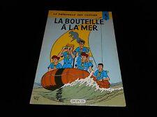 Charlier / Mitacq : La patrouille des castors 5 : La bouteille à la mer