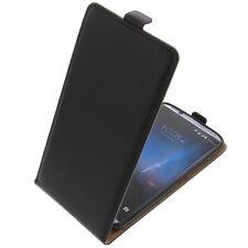 Funda para ZTE Axon 7 Smartphone Tipo Flip Funda Protectora con Tapa Negro