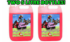 Gee bike Cleaner bicycle motorcycle motocross 2X5L 10 Litre Gets muc off fast!