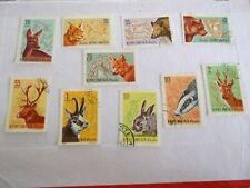 1961 Romania Forest Animals used Mi.1995/2004, A7C13