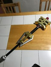 Power Rangers Legacy Zeo Golden Power Staff! Excellent Condition! Works! Rare!