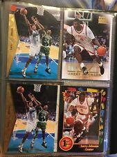 Tarjetas de baloncesto de la NBA Larry Johnson inserciones raras