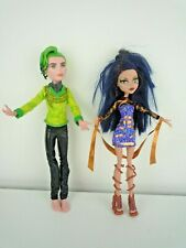 Monster High Boo York Deuce Gorgon cometa cruzó par & Cleo de Nile muñecas