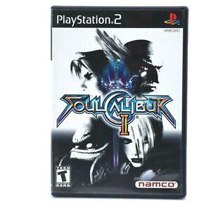 Soul Calibur II  (Sony PlayStation 2, 2003) PS2 CIB with Demo Disc ⚡️Fast Ship