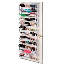 Sobre la puerta zapato rack 36 pares de almacenamiento Organizador Armario Colgante De Pared Soporte De Buena