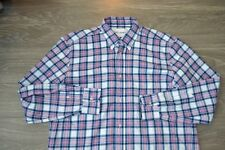 Our Legacy Original BD Pink/Blue/White Shirt Size 50 (L) MINT WORN ONCE! Flannel