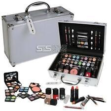 Kosmetikkoffer Alu-Design Schminkkoffer gefüllt 51 tlg Schminkset Make Up Set