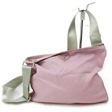 Prada Shoulder Bag  Pinks Nylon 1212985