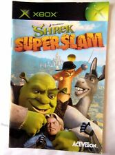 57978 Instruction Booklet - Shrek Superslam - Microsoft Xbox (2005)