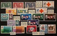 HONG KONG 1937-1969 stamp collections in Superb/XF/VF condition MNH
