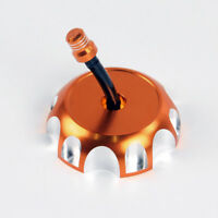 Billet Gas Fuel Tank Cap Cover For KTM 525 EGS/SX/EXC (2003-2004-2005) orange