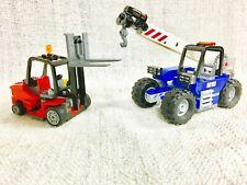 Lego Town City Cargo Forklift Crane Truck 60097/60026/60200/8404/60169