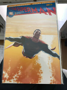 9.9 MT MINT ALL STAR SUPERMAN #1 GERMAN EURO VARIANT WP YOP 2006 WP