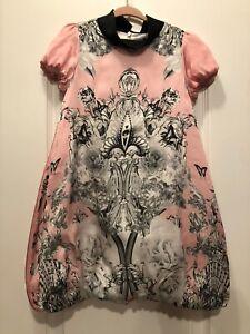 Girls Roberto Cavalli Silk  dress Size 6