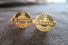 Aigner cufflinks gold color used