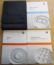 VW Sharan Manual Owners Manual Cartera 2010-2016 Pack 1475