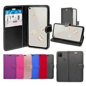 Case For Google Pixel 4a Wallet Flip PU Leather Stand Card Slot Pouch Cover