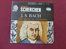 J.S.Bach - Musical Offering - Scherchen - WESTMINSTER - Stereo (0934)