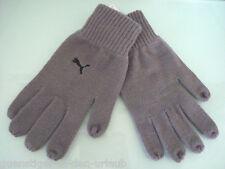 PUMA UNISEX Handschuhe Strickhandschuhe Winterhandschuhe grau M / L NEU