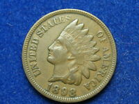 BEAUTIFUL EXTRA FINE 1898 INDIAN HEAD CENT PENNY w/ FULL LIBERTY & DIAMONDS #174
