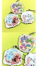 Yu Gi Oh GX 5D'S Zexal Arc-V keychain Yuya Sakaki JAPAN Yugi Yuki Yusei 3pcs