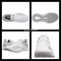 NEW Adidas BOOST Crazyflight X 2 Volleyball Workout Shoes White Women's Size 5