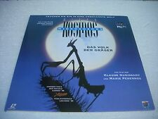 MICROCOSMOS  / THE MOVIE Europe Laserdisc Pal version