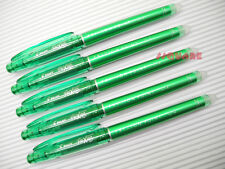 (Tracking no.) 10 x Pilot FriXion 0.4mm Needle Tip Rollerball Gel Pen, Green
