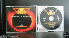 Aerosmith - I Don't Want To Miss A Thing 4 Track CD Single