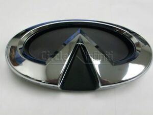 120mm Pack of 2 69mm For Q50 Q60 Q40 QX50 QX60 QX70 G35 G37 M35 QX80 EX FX QX30 etc Car Styling Vehicle Logo Emblem Badge Car Accessories Decoration GREATCO CHROME PAIR Side//Front//Rear Logo For INFINITI