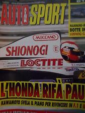 Auto & Sport ROMBO 38 1994 Alfa Romeo 164 Q4 Motore da vera sportiva