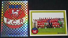 PANINI FOOT 1994 FC ROUEN DIOCHON DIABLES COMPLET FOOTBALL SAISON 1993-94