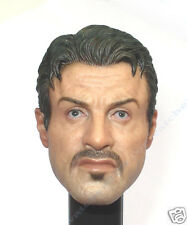 1/6 Hot Toys The Expendables 2 Barney Ross-Head Sculpt