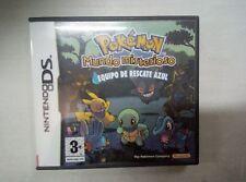 Pokemon Mundo Misterioso equipo de rescate azul - Nintendo DS NDS - PAL ESP