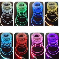 4 Meter 12V DIY High-power Brighter Optical Fiber LED Light for Universal Car