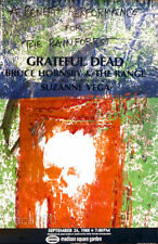 Robert RAUSCHENBERG Grateful Dead Rainforest Concert 1988 Original Poster
