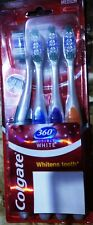 COLGATE 360° TOOTHBRUSH PACK OF 4 WHOLE MOUTH CLEAN REMOVE 151% MORE GERMS