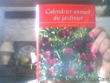 Calendrier annuel du jardinier par Lance Hattatt