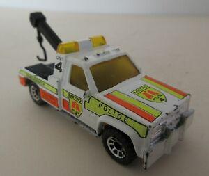 Matchbox Toys Superfast American GMC Wrecker Truck 'Metro Highway Rescue'