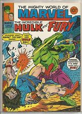 Mighty World of Marvel / Incredible Hulk : comic book #270 from November 1977