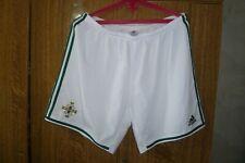 Northern Ireland Adidas Football Shorts Home 2013/2014/2015 White Men Size 2XL