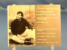 "EDDIE RABBITT - Jersey Boy - 1990 VG++ CASSETTE - CANADA - ""On Second Thought"""