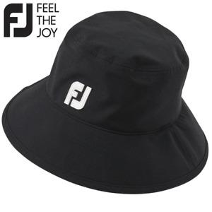 FOOTJOY DRYJOYS GOLF BUCKET HAT / WATERPROOF BRIMMED GOLF HAT / ALL SIZES