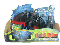 How to Train Your Dragon The Hidden World Grimmel & Death Gripper Toy Figures