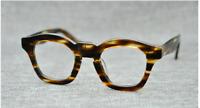 Retro vintage high Acetate Eyeglasses Frame handmade women men RX Myopia Glasses