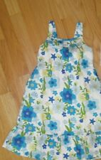 Girl GYMBOREE SEA SPLASH FLORAL STAR FISH SUN DRESS SPRING SUMMER NWT 5